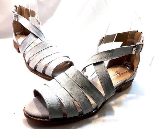 sam123 sandalias bajas cuero talles grandes cuotas sofia h