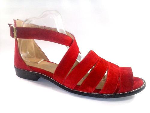 sam123 sandalias bajas cuero talles grandes cuotas sofia r