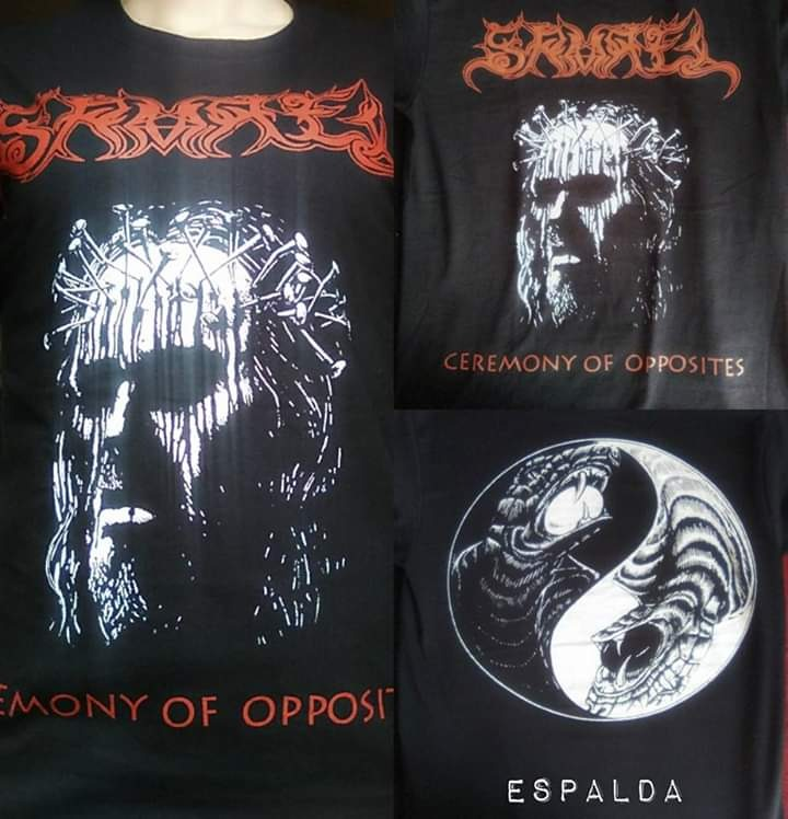 Samael Playera Rock Metal Death Black Trash Occult