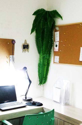 samambaia artificial gigante 1,5 metro plantas paredes verde