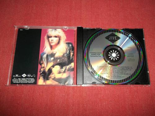 samantha fox - i wanna have some fun cd usa ed 1990 mdisk