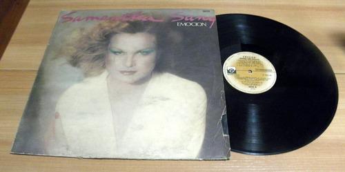 samantha sang emocion 1978 disco vinilo lp