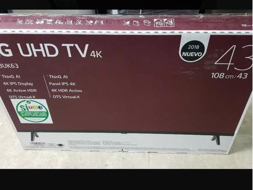samart tv lg 43 pulgada nuevo garantia 2 años