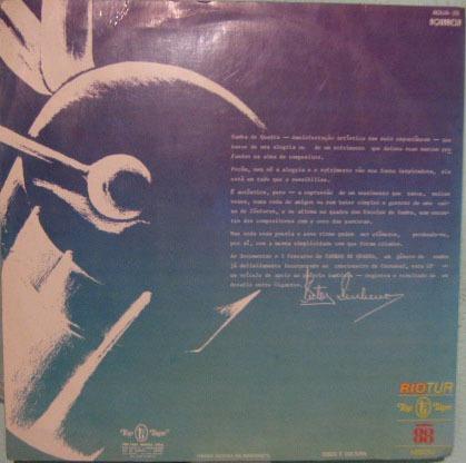 sambas de quadra - seleção -1978