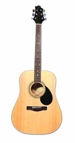samick greg bennett design gd100s acoustic guitar, natural