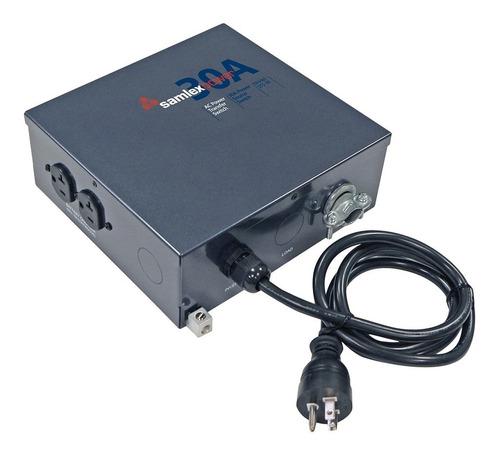 samlex solar sts -30 interruptor de transferencia automática