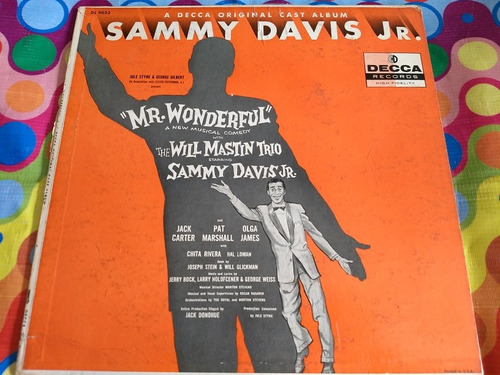 sammy davis jr. lp mr.wonderful musical comedy