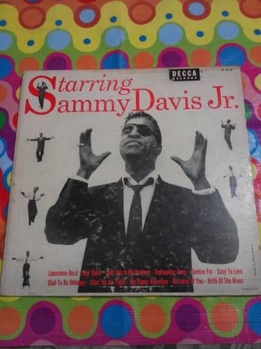 sammy davis jr lp starring. importado usa r