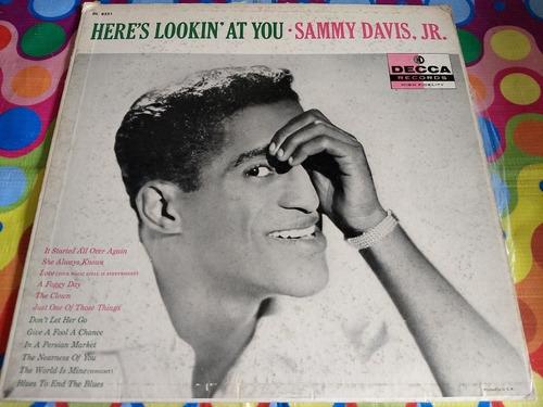 sammy davis,jr lp here's lookin' at you  r