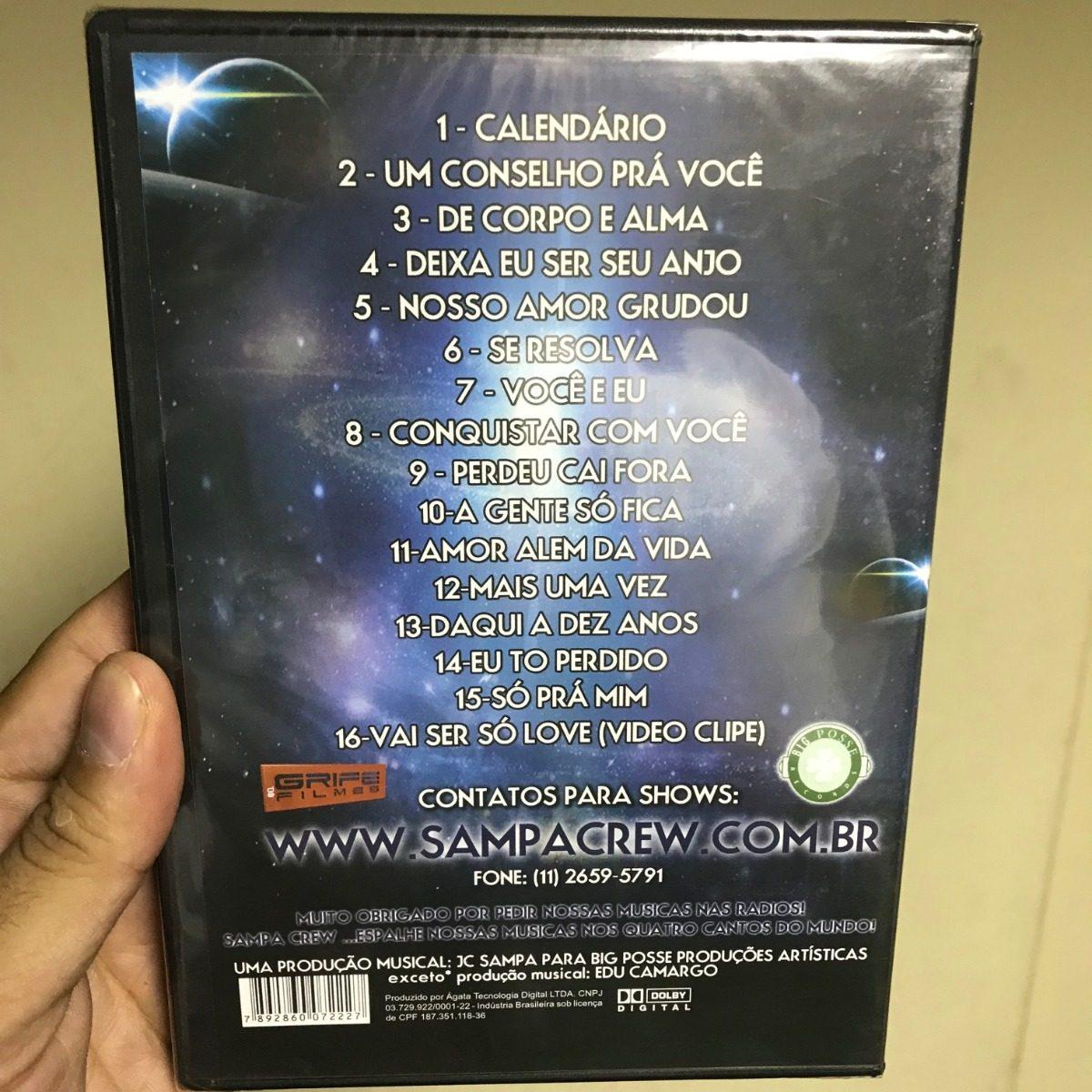 Sampa Crew - De Corpo E Alma - No Estudio 2012 Dvd Original