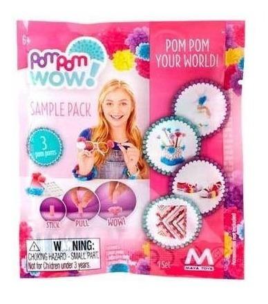 sample pack flow 3 pompones 4 ad 1 flyer pom pom wow m161 mm