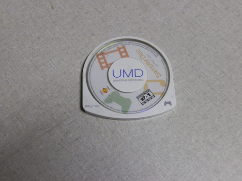 sampler disc usado psp
