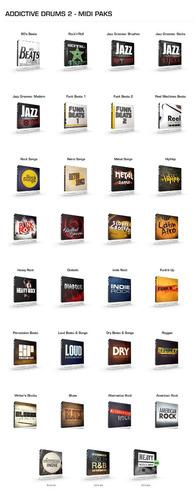 samples bateria addictive drums 2.1.7 completo + vídeoaulas