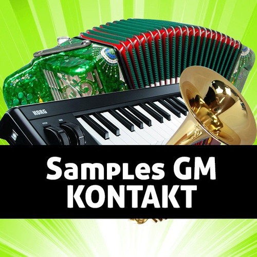 samples gm | para kontakt | general midi | reproduce midis