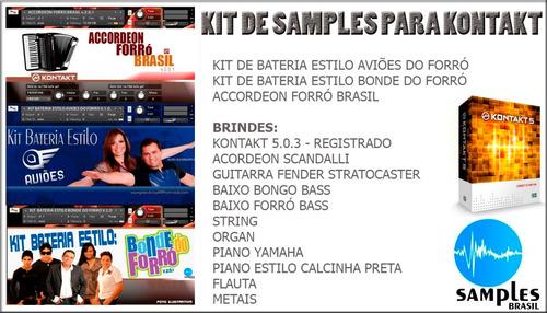 samples para kontakt - kit de samples profissionais