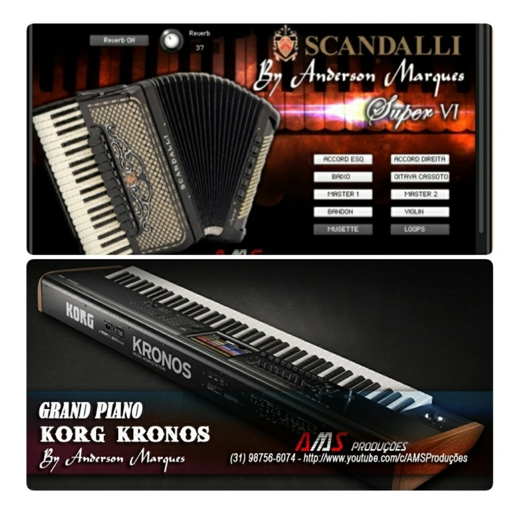 Korg Kronos Piano Samples