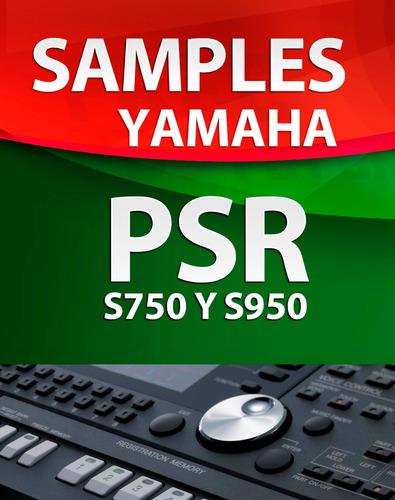 samples yamaha para teclados psr s750 y s950