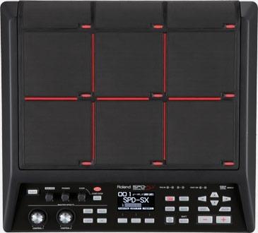 sampling pad roland spd-sx instrumento de percusión!!! nuevo