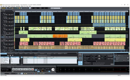 samplitude music studio 19 software daw licencia original