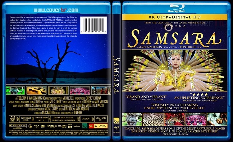 Samsara - Masterizado Em 8k - Blu Ray Importado, Lacrado