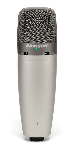 samson c03u microfono de doble condensador usb multipatron