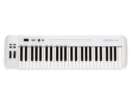 samson carbon  49 controlador midi/usb 49 teclas home studio