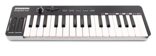 samson graphite m32 teclado controlador usb ipad profesional