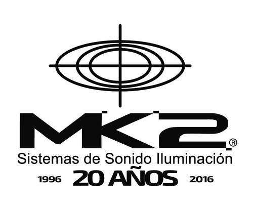 samson mc18 pack x 3 cable para micrófono xlr canon 5,5m en cuotas