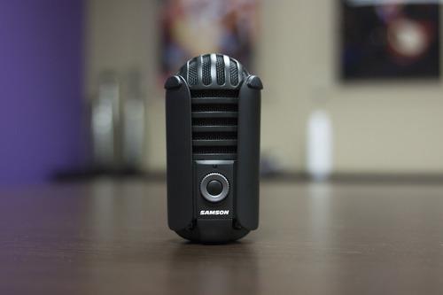 samson meteor mic usb micrófono de estudio (titanio negro)