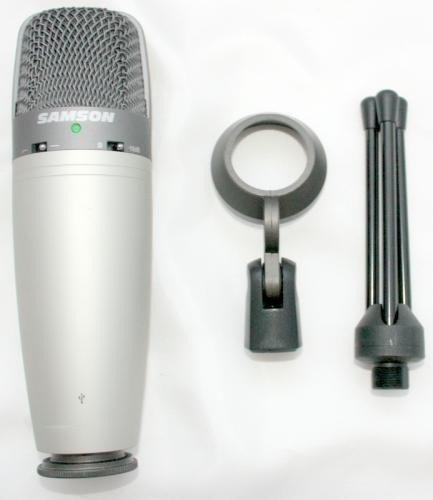 samson microfono condensador