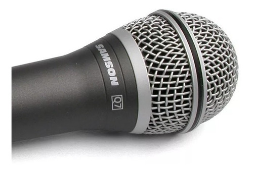 samson q7 microfono de mano supercardioide estuche y pipeta