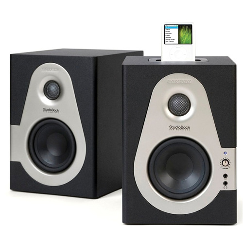 samson sd4i studio dock monitores de audio outlet detalles x exhibicion!