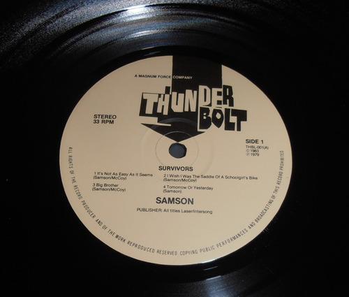 samson - survivors ( l p ed. europea 1983)