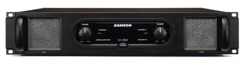 samson sx2800 amplificador pot. digital 1400x2 soundgroup