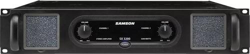 samson sx3200 amplificador digital 1600 + 1600 soundgroup