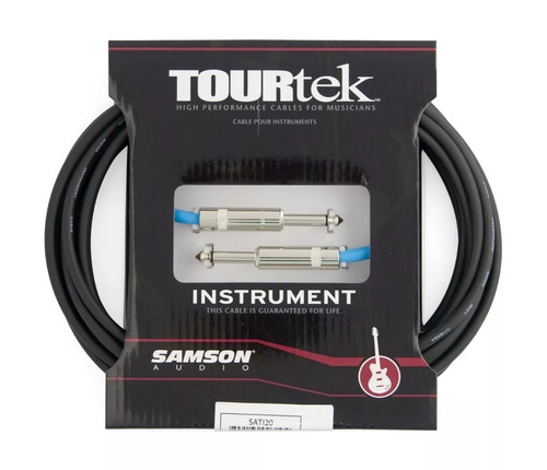 samson tourtek ti10 cable plug - plug de 3 metros soundgroup