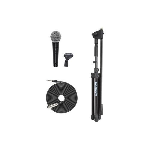 samson - vp10 value pack micrófono dinámico
