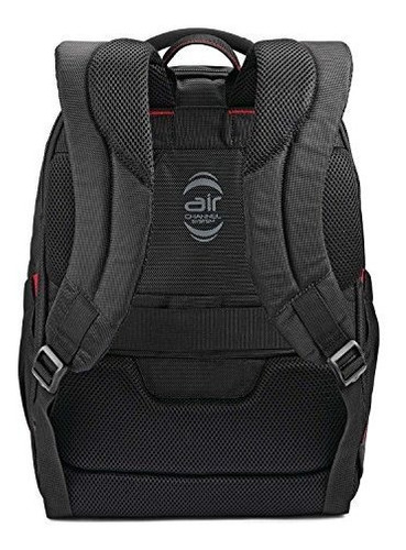 samsonite xenon 3.0 slim backpack business, negro, talla