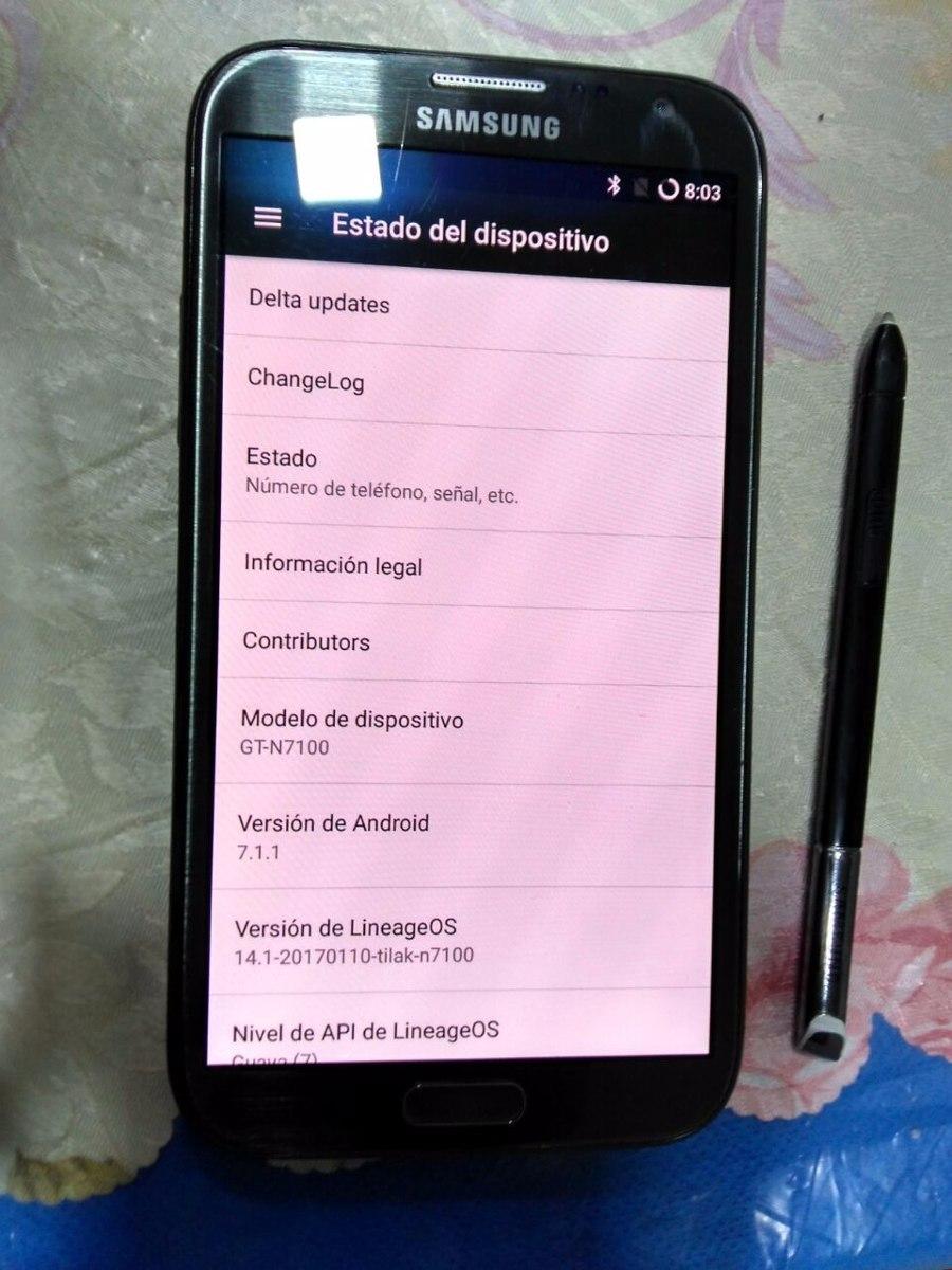 Samsumg Galaxy Note 2 Libre