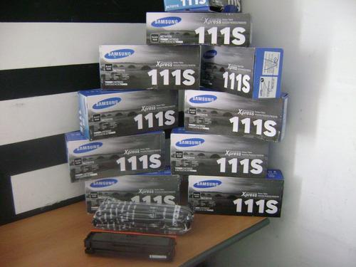 samsung 111s cartucho vacio mlt-d11s/xax virgen original