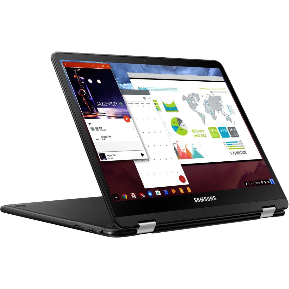 Samsung 12 3 64gb Multi-touch 2-in-1 Chromebook Pro M3