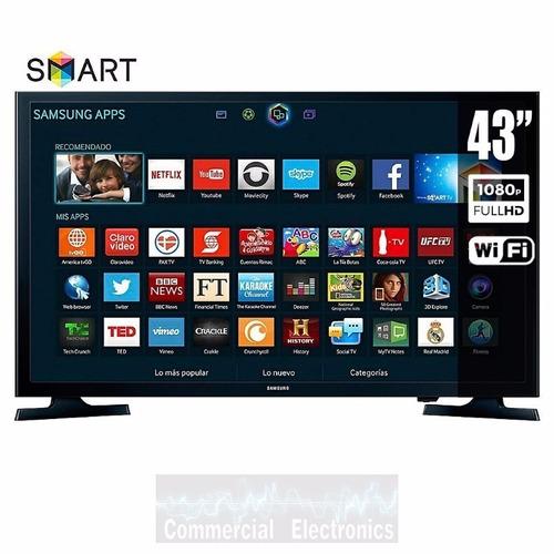 samsung 43  led smart tv wifi 2-hdmi 2-usb un43j5200ahcze