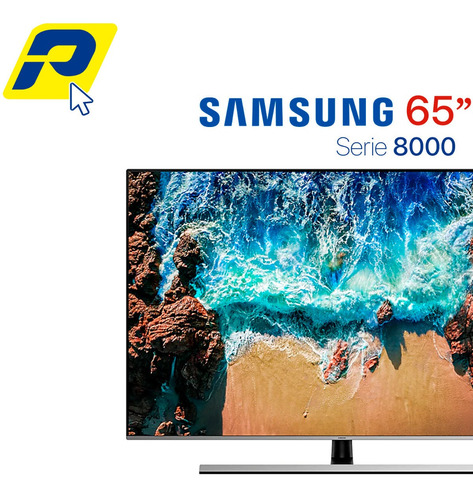 samsung 65 pulgadas - smart tv 4k 2018 nu8000 uhd serie 8000