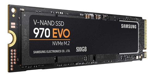 samsung 970 evo nvme m.2 500gb - lectura 3,500mb/s
