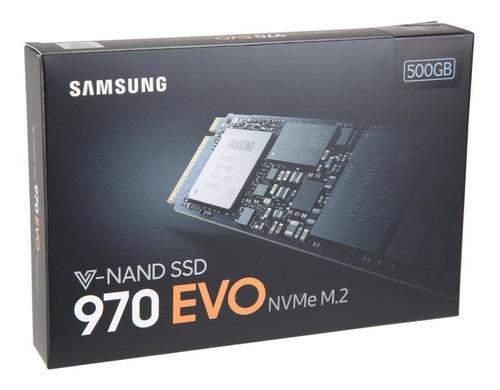 samsung 970 evo ssd m.2 2280 500gb pcie nvme pronta entrega