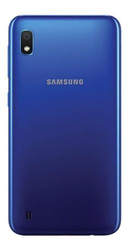 samsung a10 32gb + forro + popsocket + vidrio/ tienda física