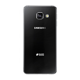 samsung a3 2016 negro 4g 16gb 13mpx + sim claro prepago