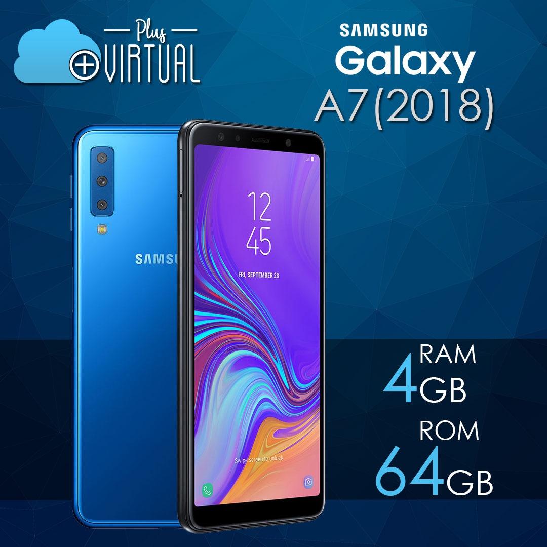 Samsung A7 2018 4gb Ram/64gb Rom + Garantia + Obsequio