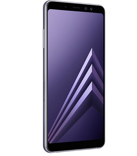 samsung a8+ ds gris lte original liberado rom 32gb 16mp