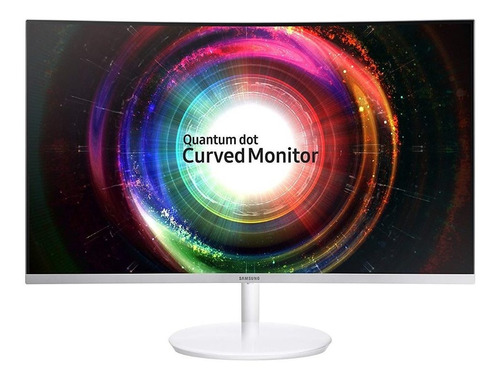 samsung c32h711 monitor gamer curvo wqhd freesync qled 32 in